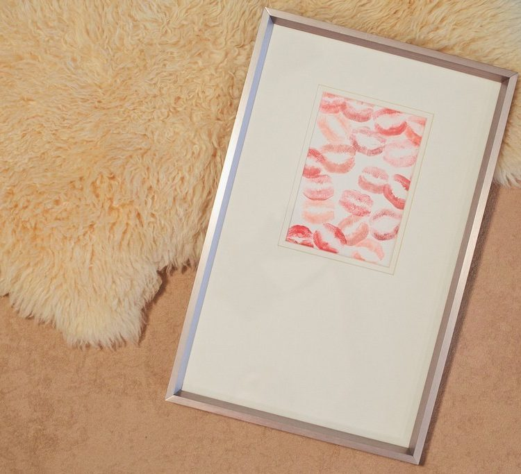 DIY Lipstick Print Valentine featured by top FL lifestyle blogger, Tabitha Blue of Fresh Mommy Blog