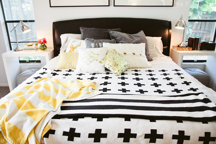5 Tips to Cozy Up a Rental Space   Bedroom Makeover on Fresh Mommy Blog-4
