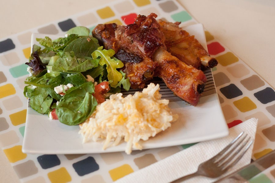 Sweet and Spicy Grilled Ribs