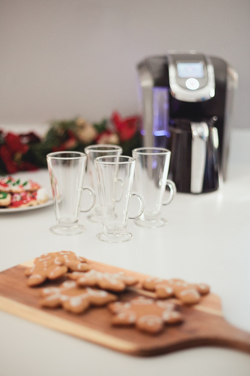 Christmas Coffee and Cookies | A Festive Holiday Dessert and Coffee Bar + The Best Gingerbread Cookie Recipe featured by top Florida foodie blog Fresh Mommy Blog