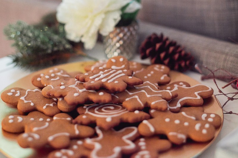 The Best Christmas Gingerbread Cookies (1 of 1)