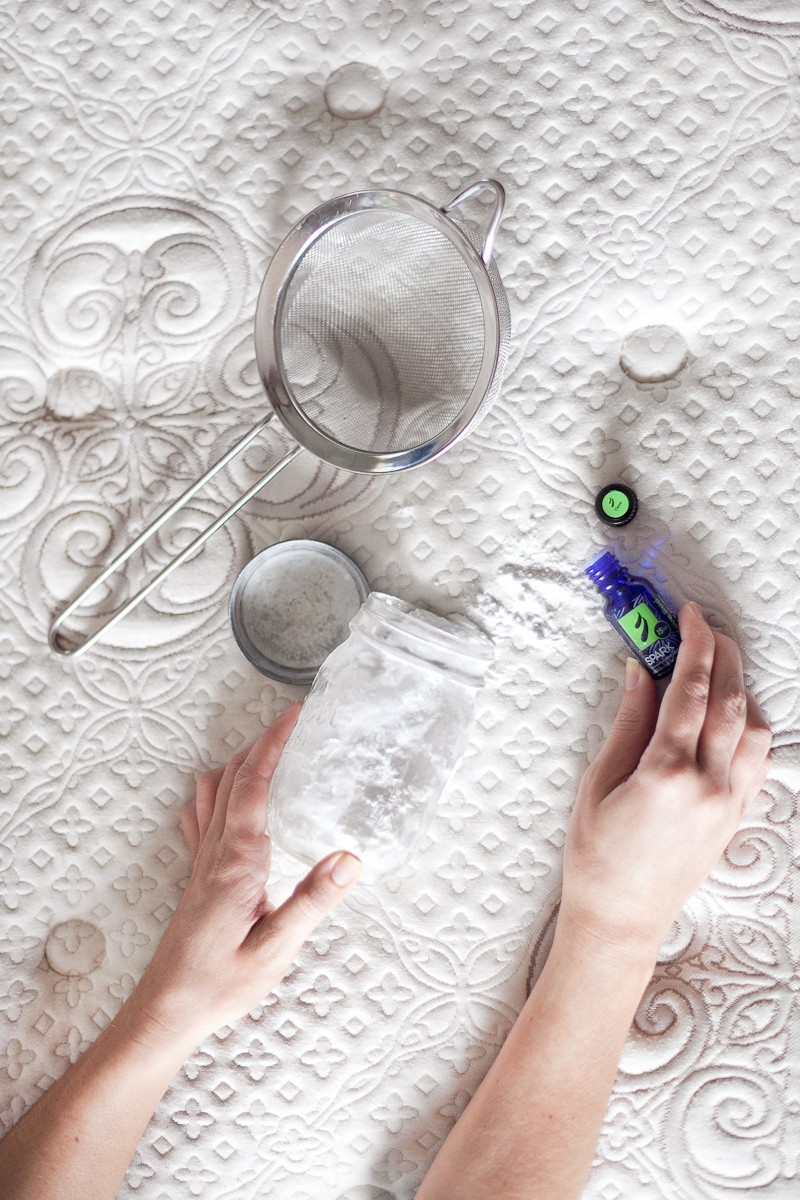 Mattress Cleansing and Refreshing with Essential Oils - How to: Refresh and Deodorize Mattress  by popular South Florida lifestyle blogger Fresh Mommy Blog