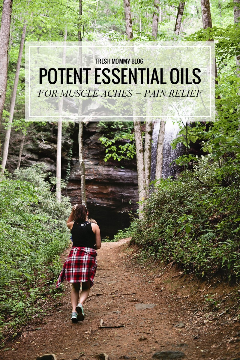 Tabitha Blue of Fresh Mommy Blog shares her top essential oils to relieve muscle aches and pains!
