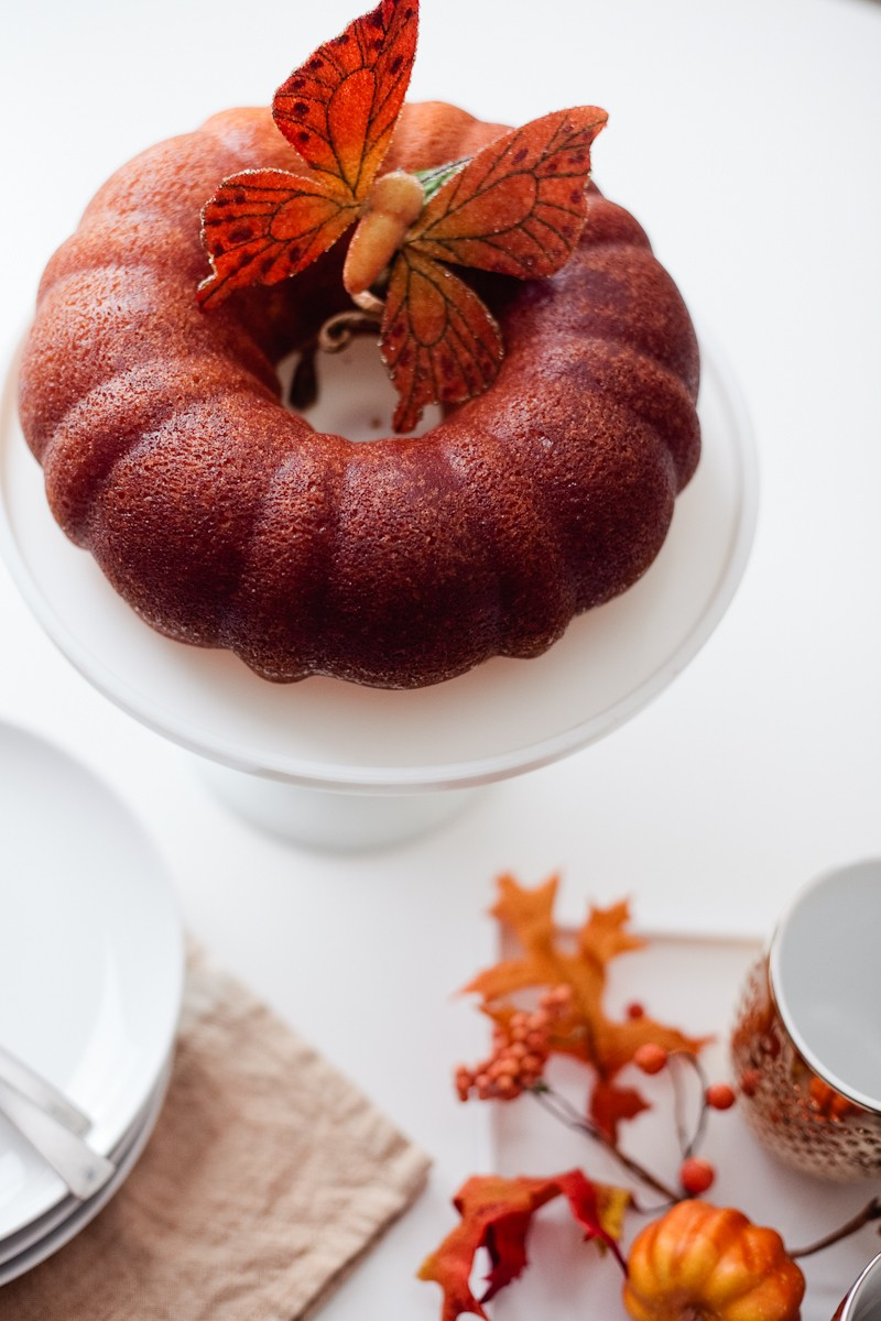 The Perfect Rum Cake Recipe + Game Night | Rum Cake Recipe from scratch featured by popular Florida life and style blogger, Tabitha Blue of Fresh Mommy Blog