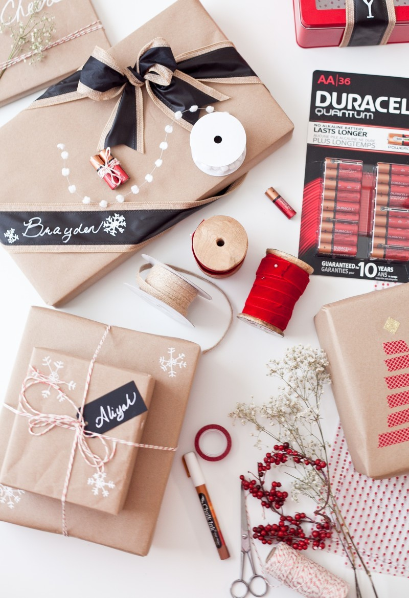 Get your Christmas presents all wrapped up for Christmas the easy way!! And they'll look amazing as well!