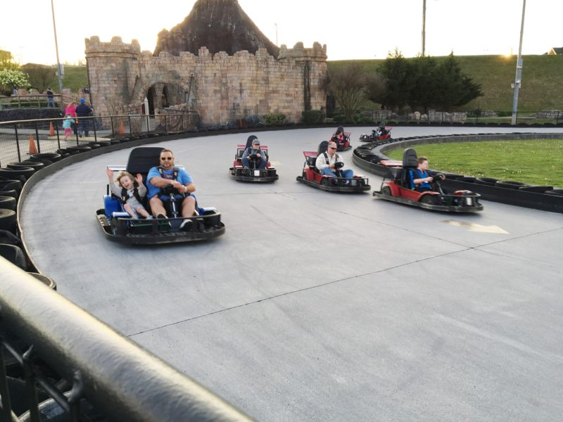 Pigeon Forge Family Fun Vacation Nascar Go Kart Driving