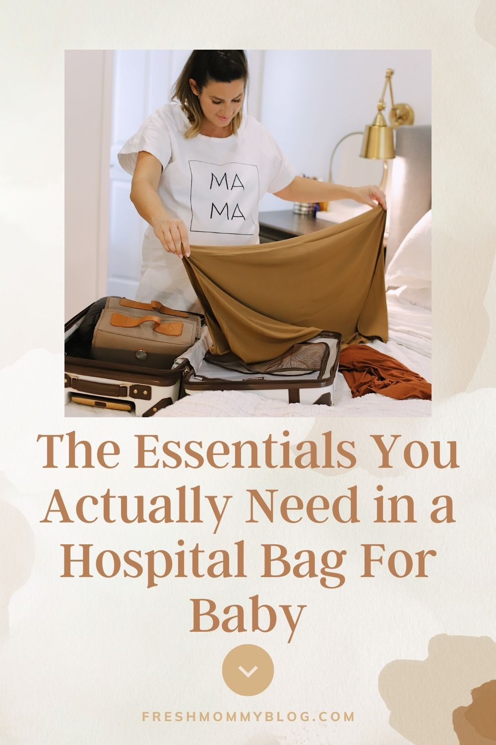 The Essentials You Actually Need in a Hospital Bag For Baby