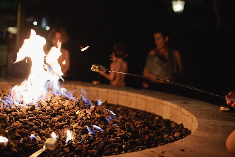A birthday celebration getaway to Omni Orlando. A Go Local staycation at the fire pit of gorgeous resort.