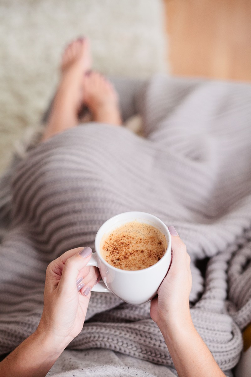 Homemade Pumpkin Spice Latte. Whether you want it clean and skinny (vegan too!) or you love adding in the cream and sugar, this homemade pumpkin spice latte recipe totally takes the cake. Save money and try your own PSL!  Homemade Pumpkin Spice Latte Recipe featured by popular Florida lifestyle blogger, Tabitha Blue of Fresh Mommy Blog