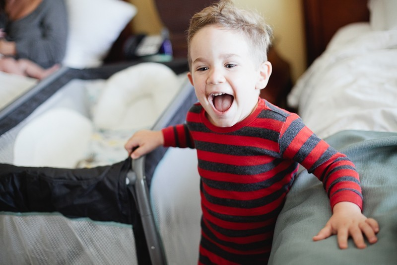 8 Simple Hotel Room Tips to Improve Traveling with Baby