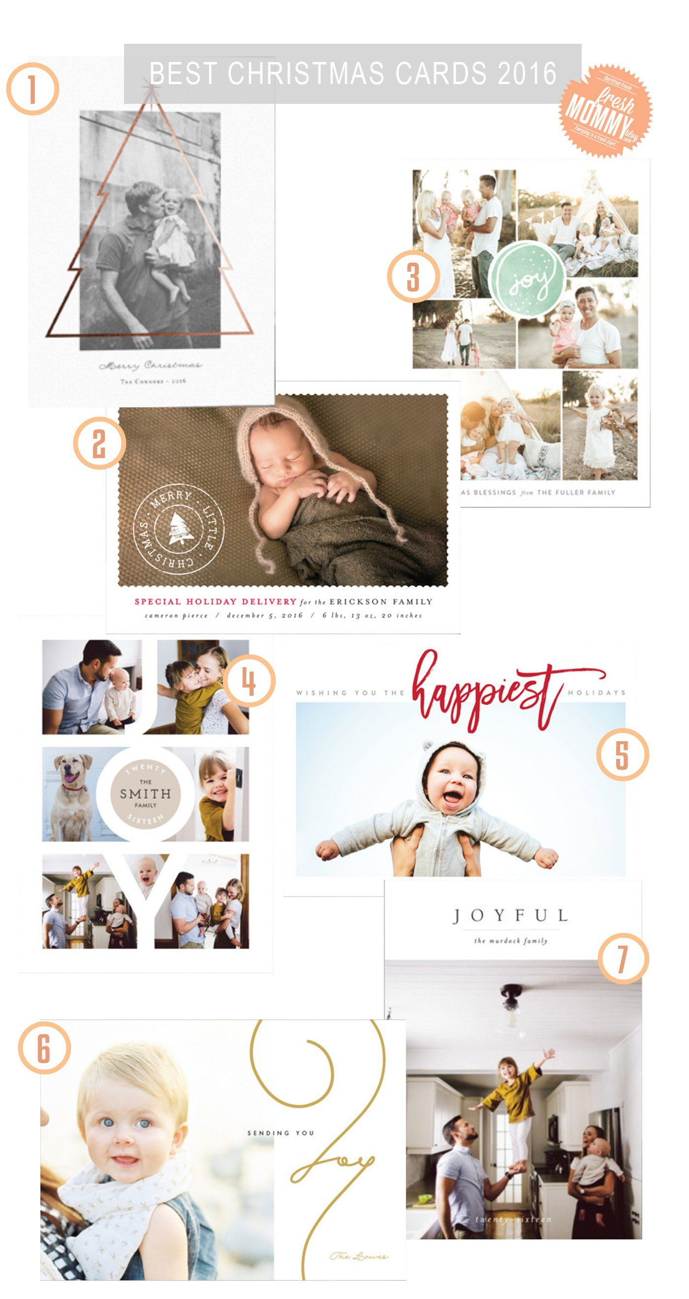 Fresh Mommy Blog top Christmas card picks from Minted and a $250 Minted Shop Credit Giveaway!