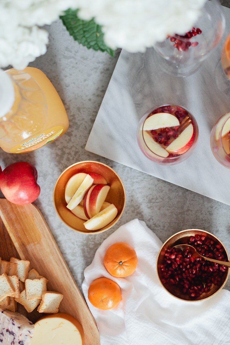 Tangerine Apple Cider recipe that's perfect for any occasion, especially the holidays! Make it a cocktail or make it a mocktail, both are equally delicious!
