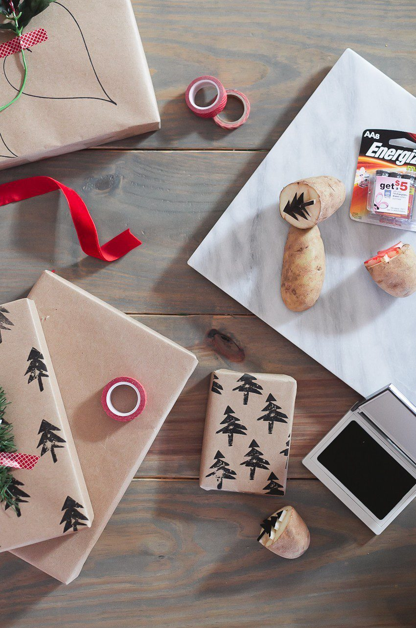   Easy and simple Christmas gift wrapping ideas featured by top Florida life and style blog, Fresh Mommy Blog