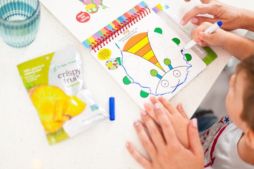 Prep for a clutter free school season with this portable DIY homework station! Makes a perfect craft station too, and rolls out of the way when finished.