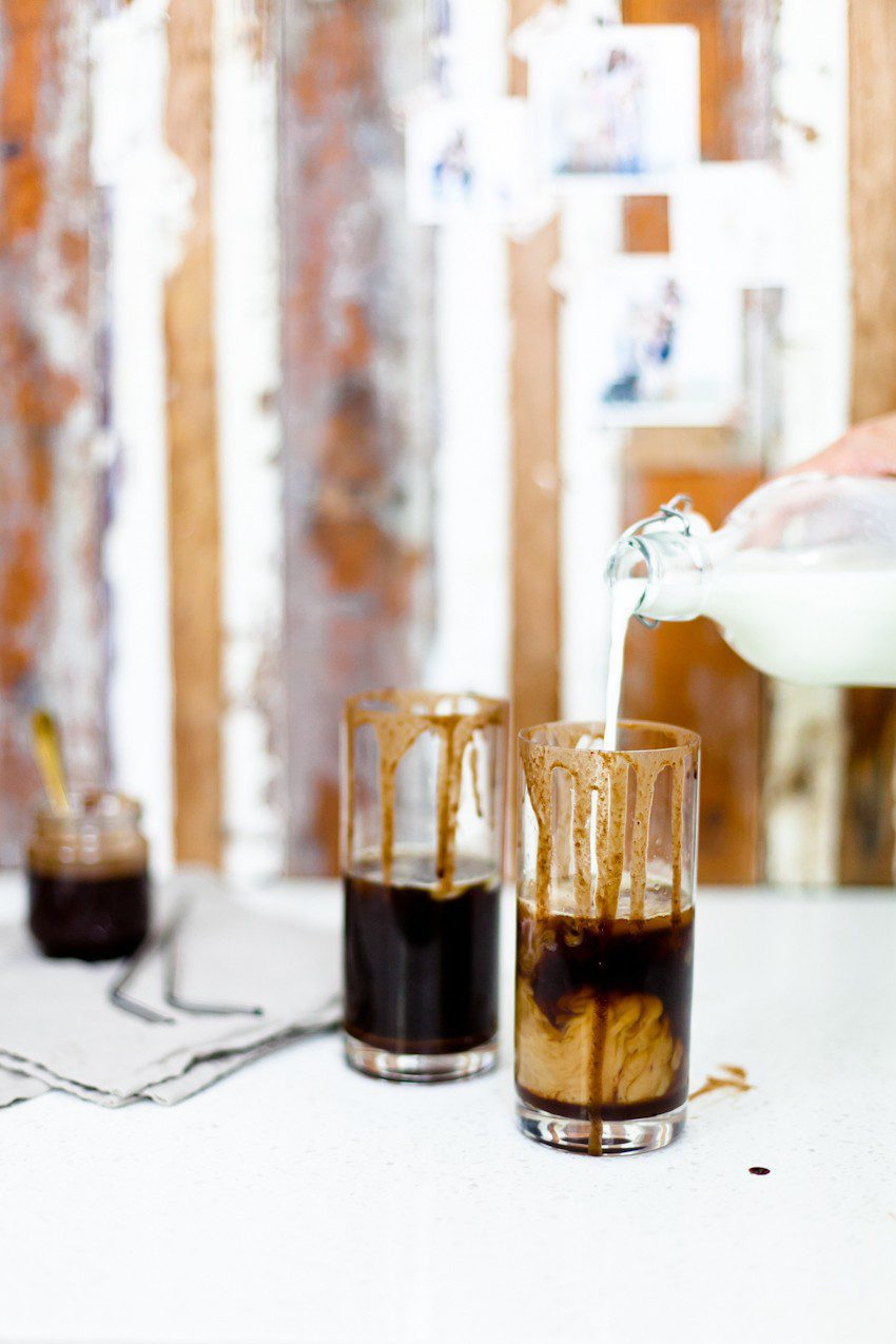 The Best Iced Spiced Mocha Recipe by popular Florida lifestyle blogger Fresh Mommy Blog