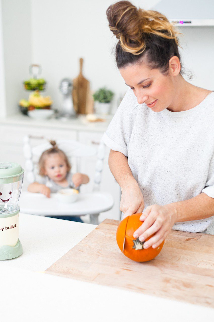 Making baby food at home is easier than ever! Homemade baby and toddler food and our favorite fall recipes.