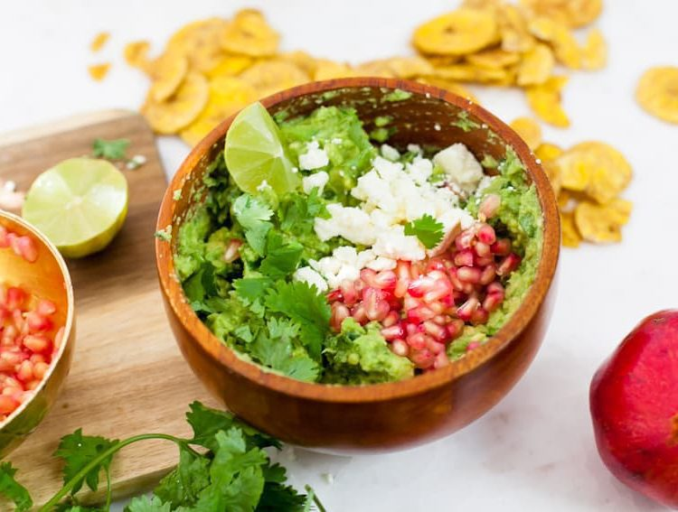Simple Meal Solutions + Prep and Pomegranate Guacamole Recipe