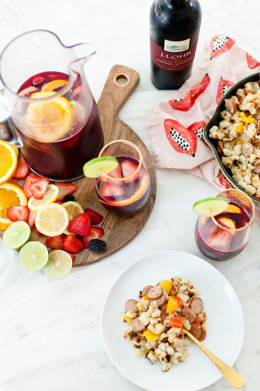 What better way to celebrate the season than with a blood orange berry summer sangria? It's our go-to summer drink and with one big hack to make sangria even easier, this recipe is perfect for your next gathering or summer get together!