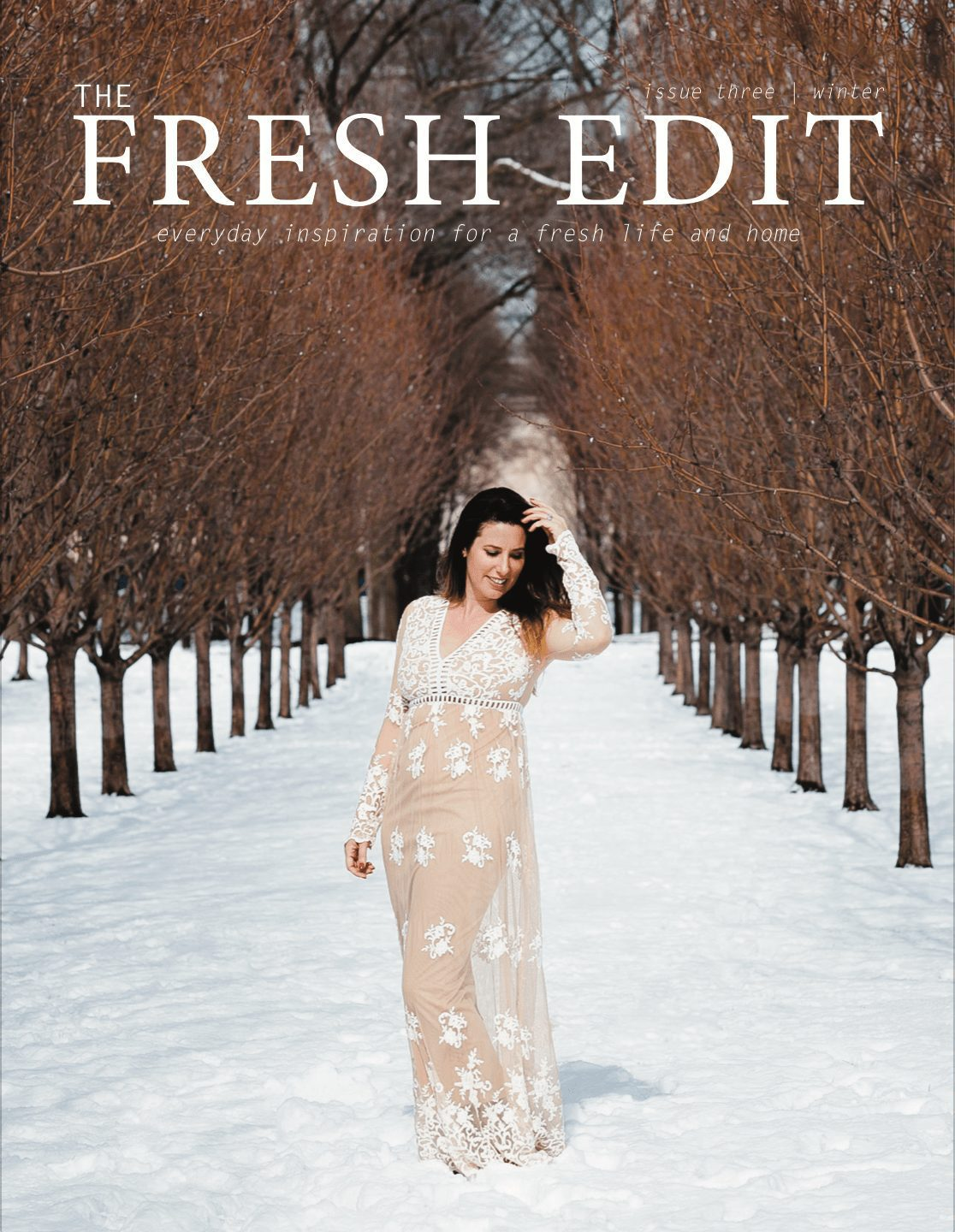 The Fresh Edit Volume 3 Fall/ Winter Edition | The Fall/Winter Edition of The Fresh Edit is Here! featured by top Florida lifestyle blog Fresh Mommy Blog