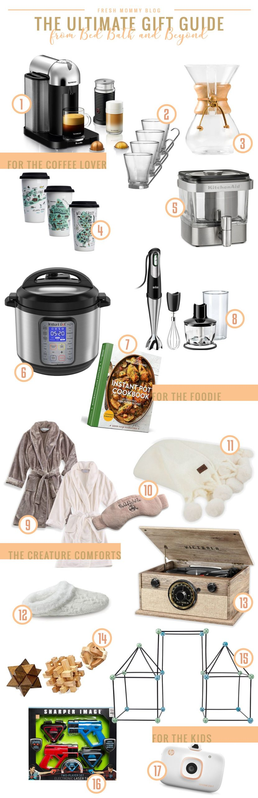 The Best Bed Bath & Beyond Gifts for your Entire Family