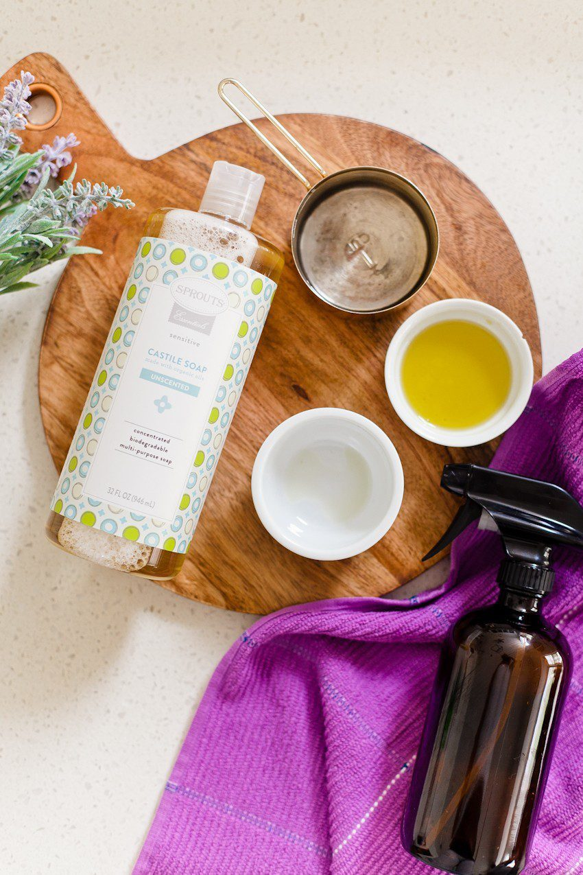 3 Amazing Castile Soap Cleaning Recipes To Make Your House Sparkle from popular US lifestyle blogger Tabitha Blue of Fresh Mommy Blog
