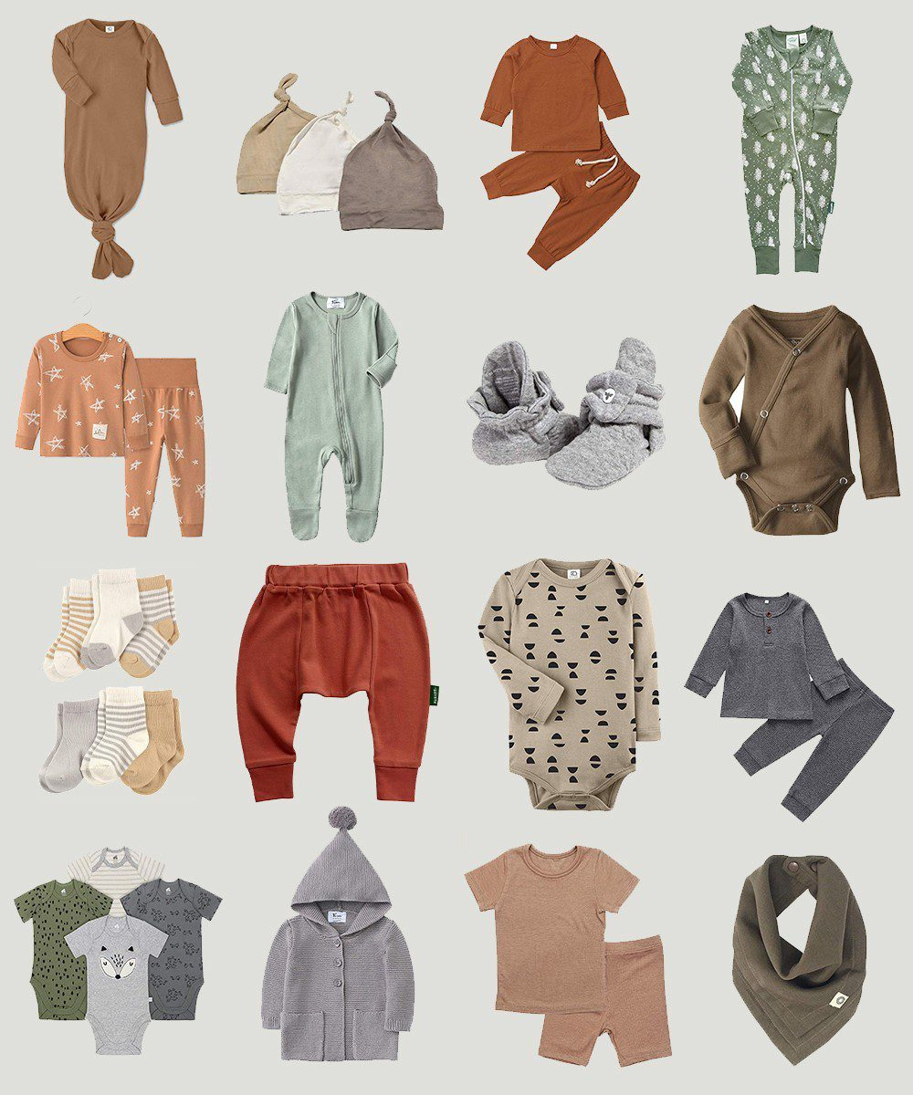 Neutral Amazon Winter Baby Clothes