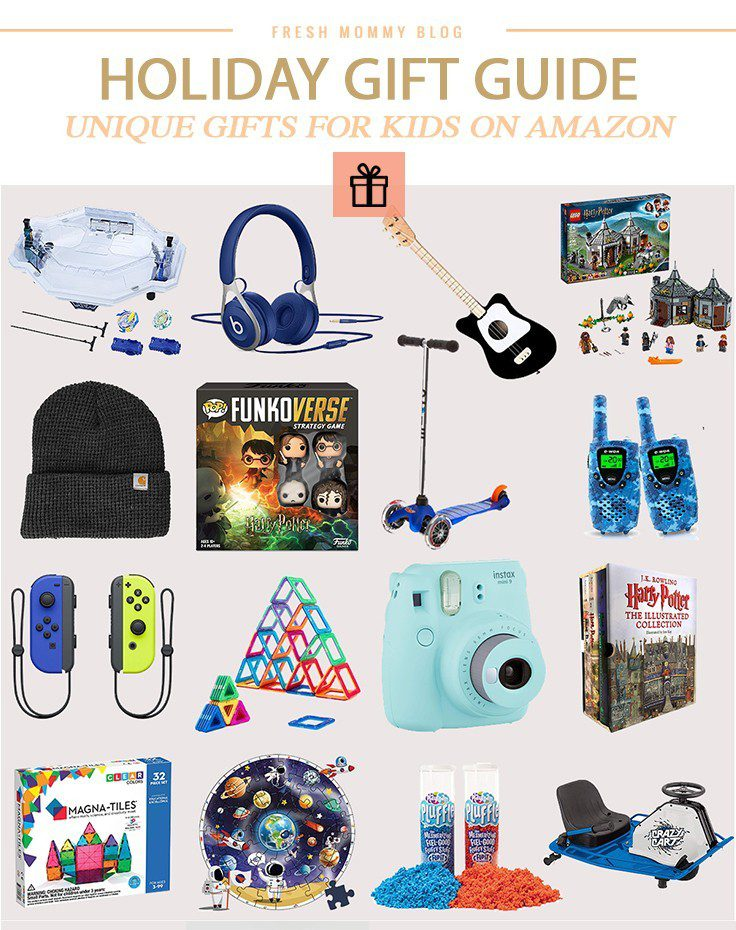 Holiday Gift Guide: Unique Christmas Gifts for Kids on Amazon