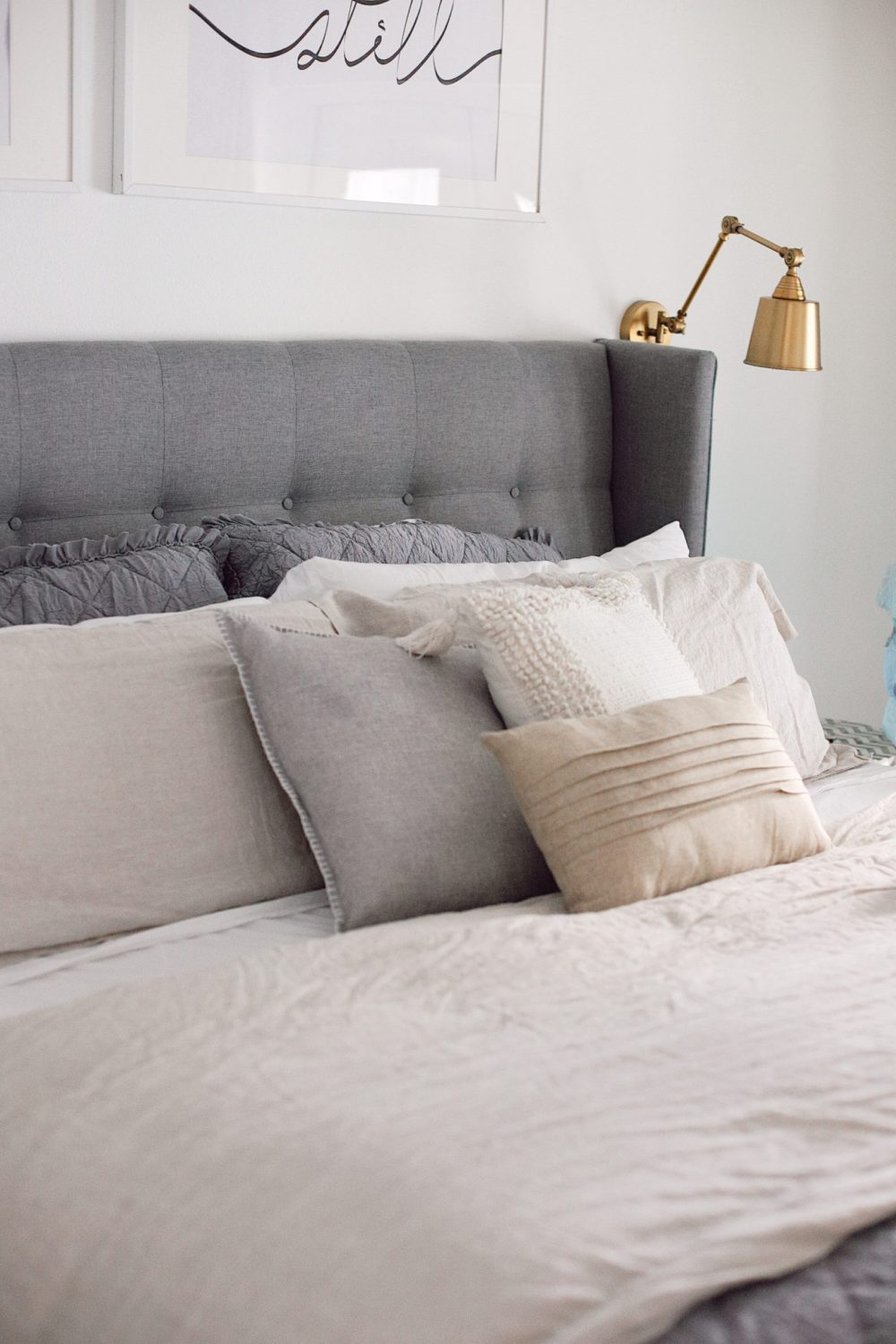 how to Make your Bed Comfortable Like a Hotel in 7 Easy Steps, a tutorial featured by top Florida lifestyle blog, Fresh Mommy Blog.