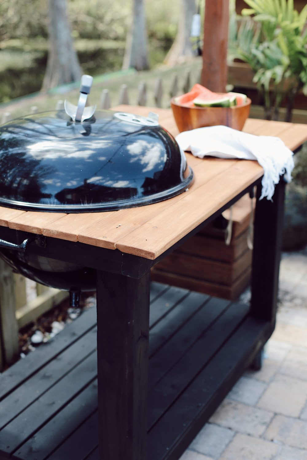 How to Make a DIY Grill Table You'll Love