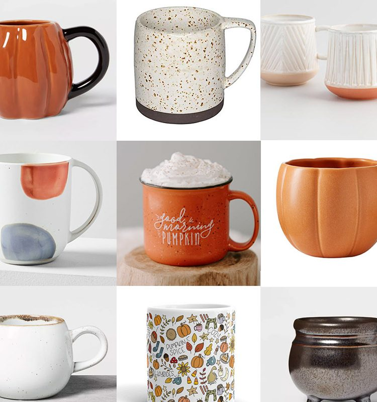 16 Cute Fall Coffee Mugs from Target and More to Add to your Collection