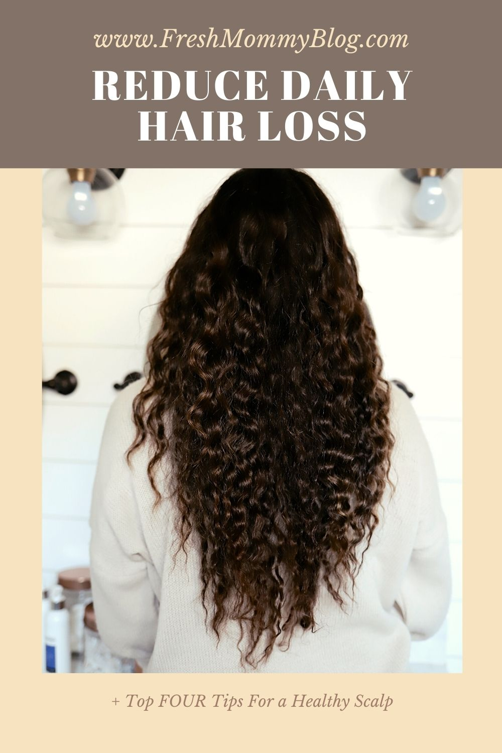 How to Reduce Hair Loss,  KeepItAnchored Review by top Florida lifestyle blogger Tabitha Blue of Fresh Mommy Blog