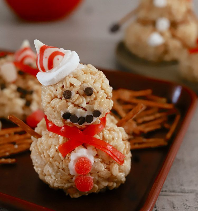 How to Make a Festive Rice Krispies Snowman Christmas Activity