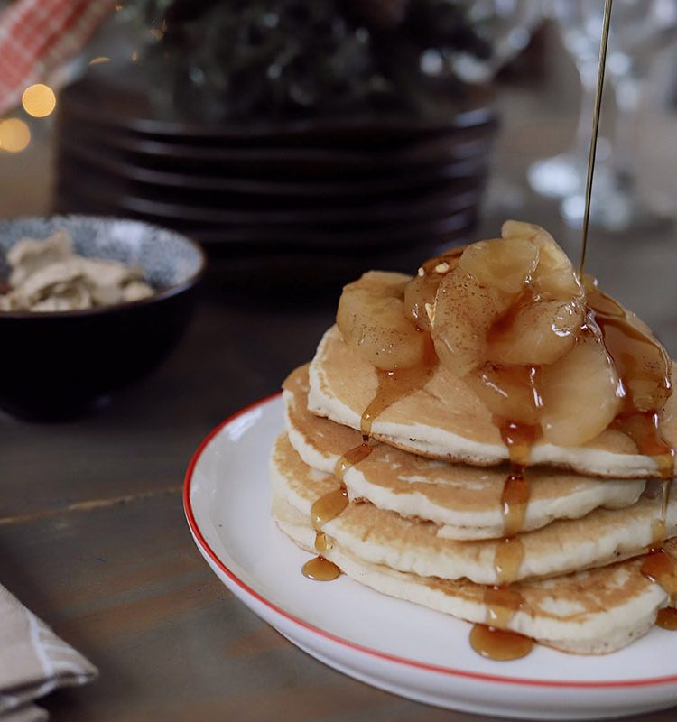 Festive Pancake Toppings for a Delicious Holiday Family Breakfast