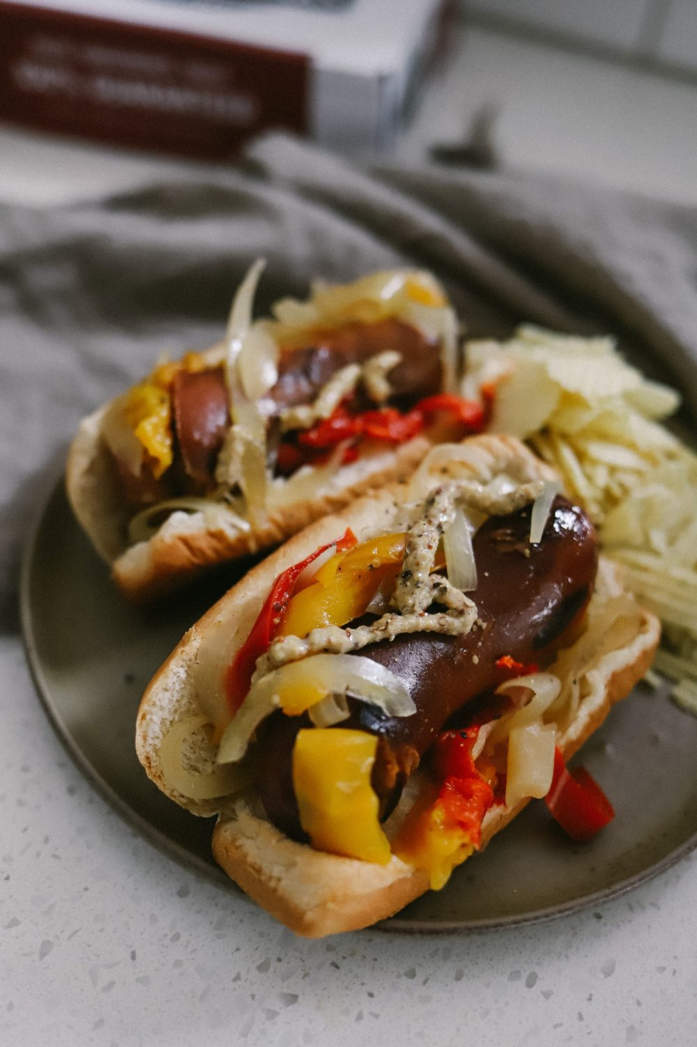 Crockpot Recipes for Large Families: How to Make Slow Cooker Beer Brats with Peppers and Onions