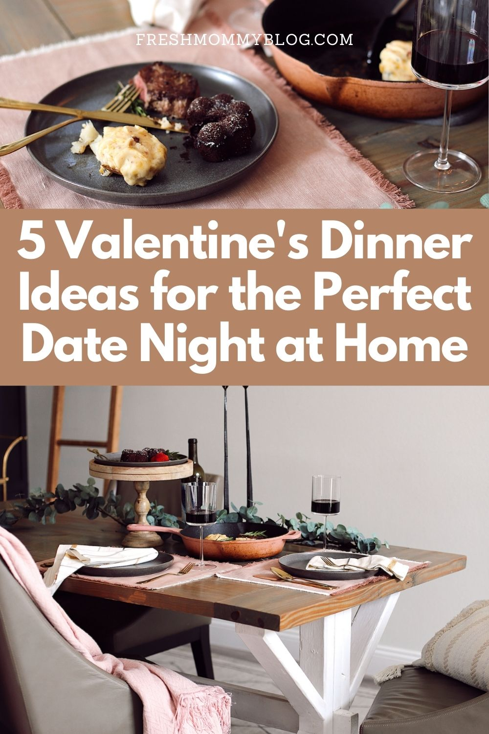 Easy at Home Valentines Day Ideas including the BEST meal. Perfect for a date night at home. Check out these valentines dinner ideas!