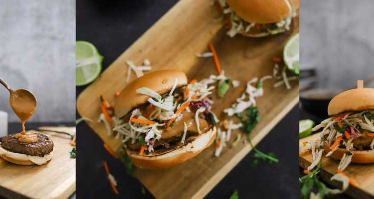Thai Burgers With Peanut Sauce and 5 Barbeque Side Ideas for the Win
