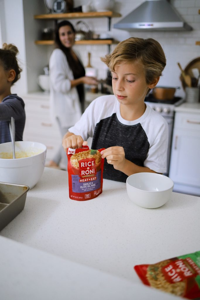 5 Essential Tips to Cook with Children featured by top FL lifestyle blogger, Tabitha Blue of Fresh Mommy Blog.