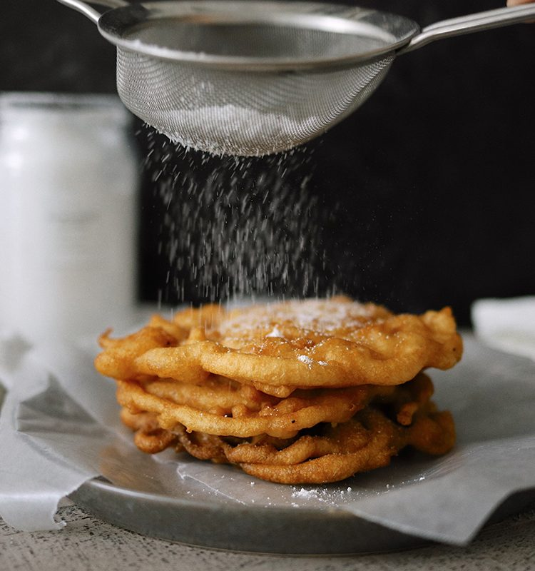 How to Make Yummy Funnel Cake From Pancake Mix at Home