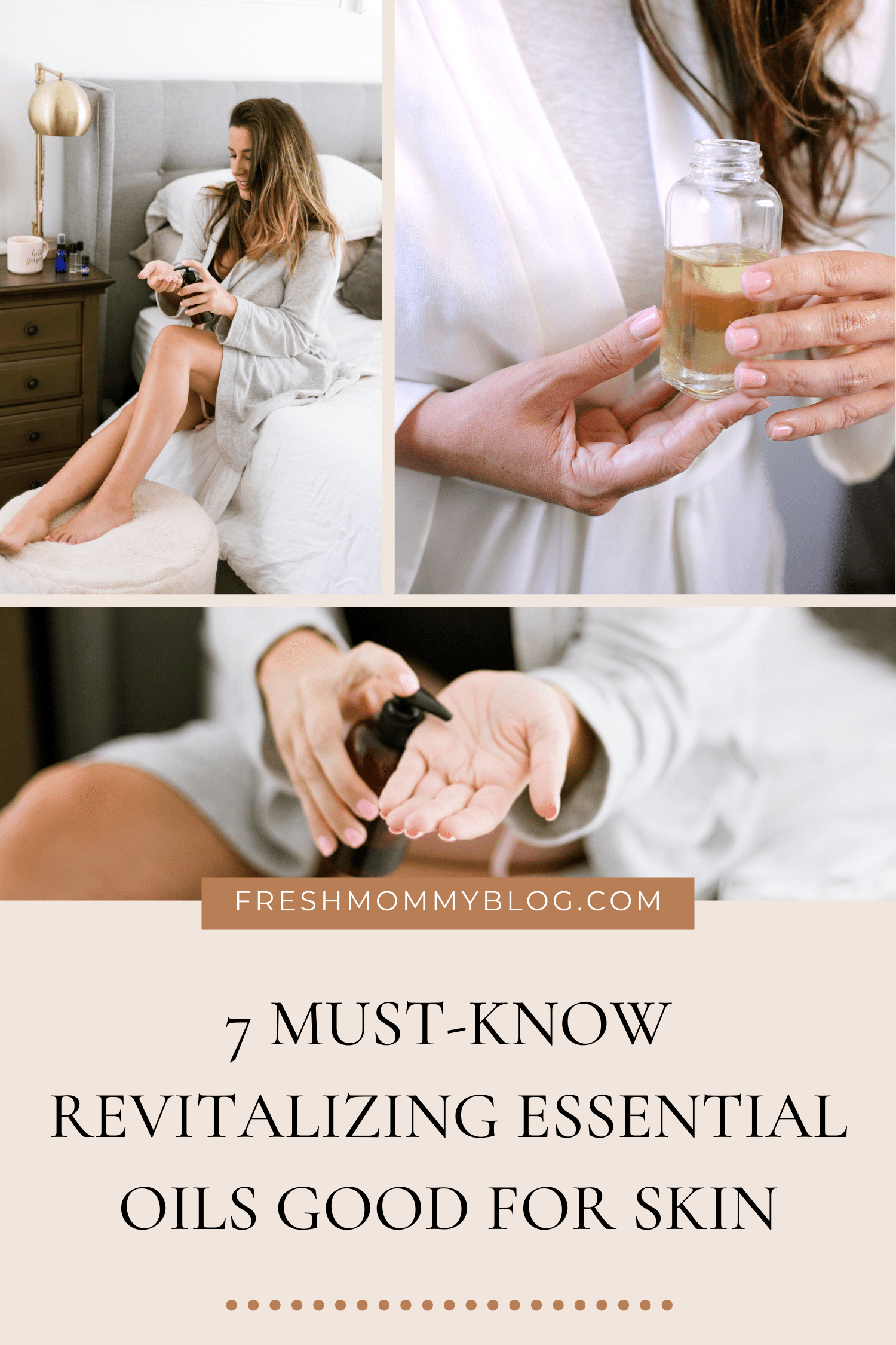 Revitalizing Essential Oils Good for your Skin featured by top US essential oils blogger, Fresh Mommy Blog
