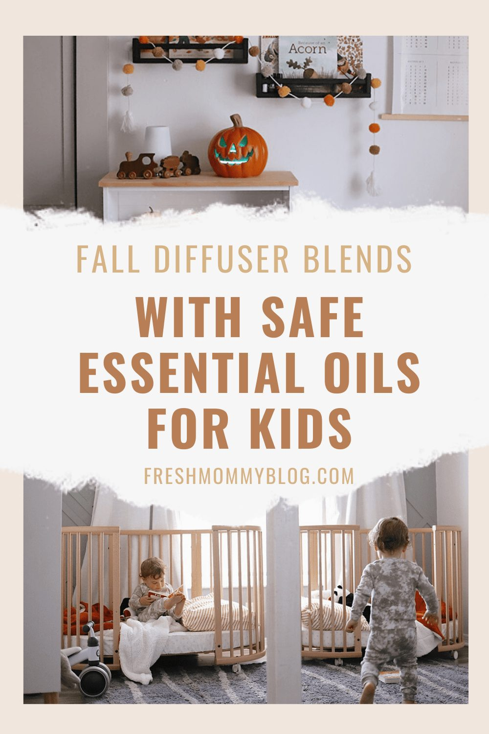 Fall Diffuser Blends With Safe Essential Oils for Kids featured by top US essential oils blogger, Fresh Mommy Blog