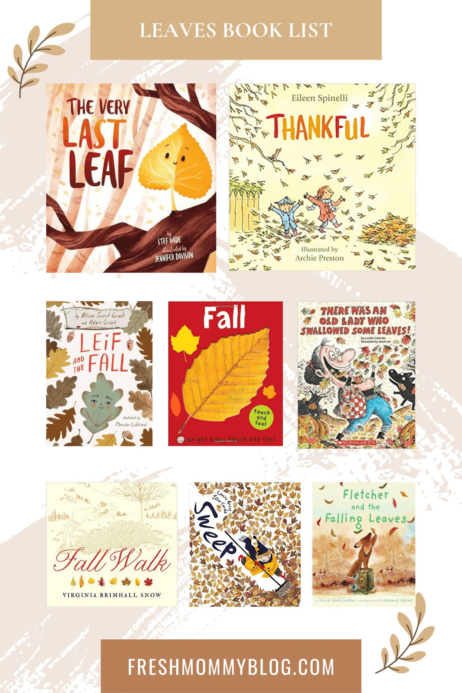 If you're looking for the perfect fall childrens books, look no further! The roundup of our top fall kids books has you covered, whether you're looking for something to entertain your toddler or a fall book list to keep your older kids busy all autumn long. Books about leaves for kids.
