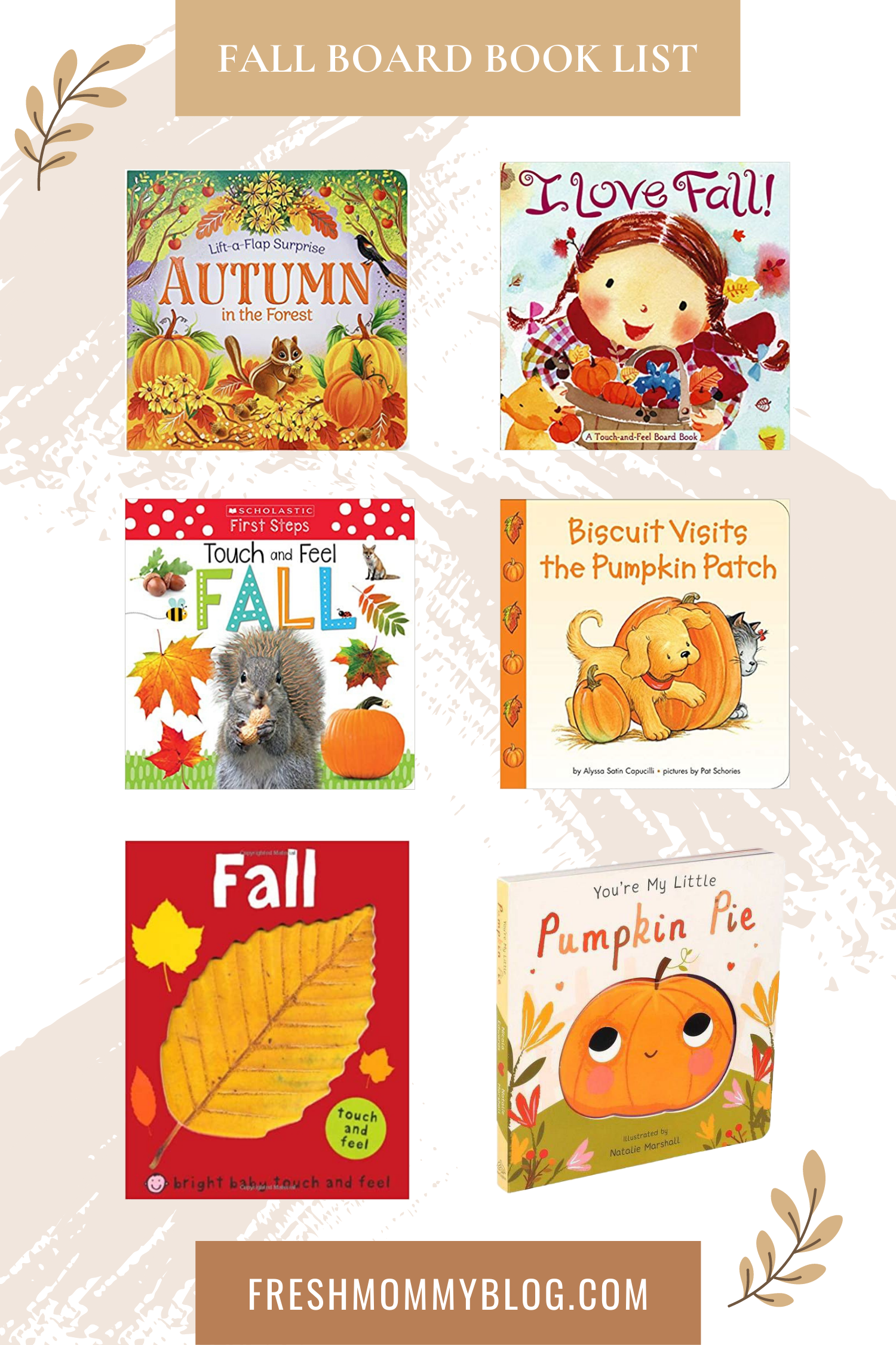 If you're looking for the perfect fall childrens books, look no further! The roundup of our top fall kids books has you covered, whether you're looking for something to entertain your toddler or a fall book list to keep your older kids busy all autumn long. Fall board books for toddlers.