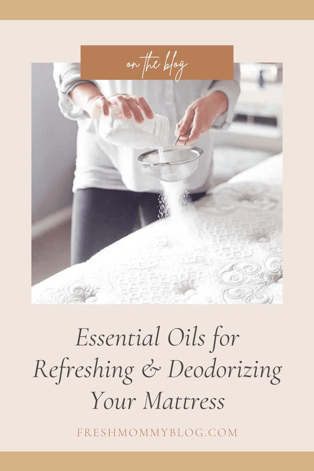 essential oils for refreshing and deodorizing