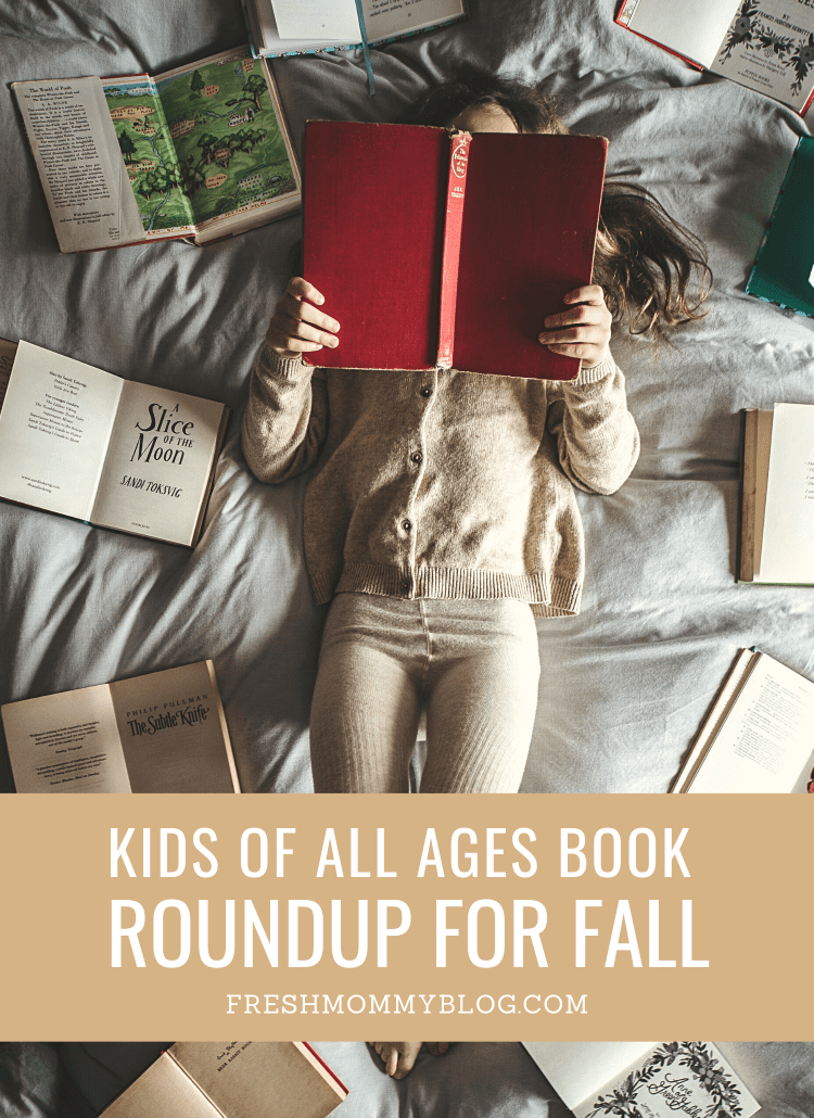 the Best Fall Books for Kids of All Different Ages featured by top US lifestyle blogger, Tabitha Blue of Fresh Mommy Blog.