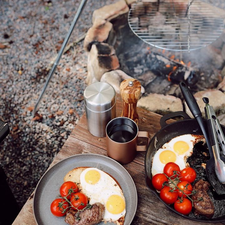 Super Simple Steak and Eggs Breakfast for a Delicious Campfire Meal
