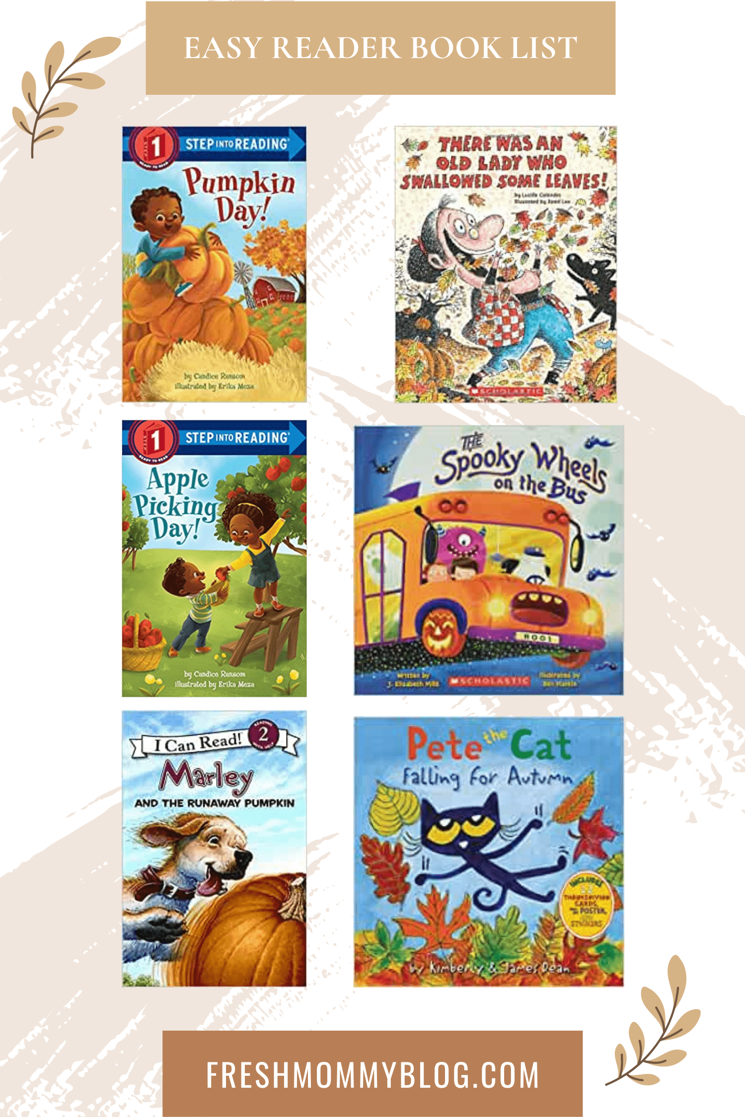 If you're looking for the perfect fall childrens books, look no further! The roundup of our top fall kids books has you covered, whether you're looking for something to entertain your toddler or a fall book list to keep your older kids busy all autumn long.