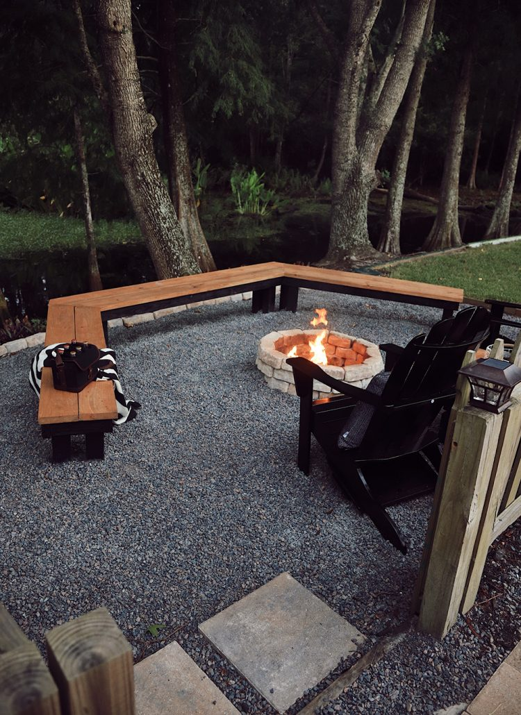 Super Simple Homemade Easy Fire Pit That Anyone Can Do